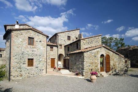 Tuscany Borgo Cerbaiola apartment - Montecastelli Pisano - Appartement
