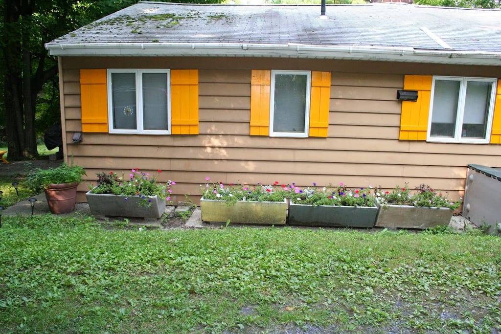 New planters added last fall.