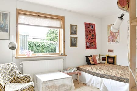 Lejlighed / halvt hus nær Århus - Hornslet - Apartamento