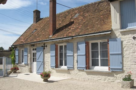 Maison Bleue-cottage near Blois - Hus