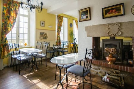 Breton Mill Room 2 Single Beds - Jugon-les-Lacs - Bed & Breakfast