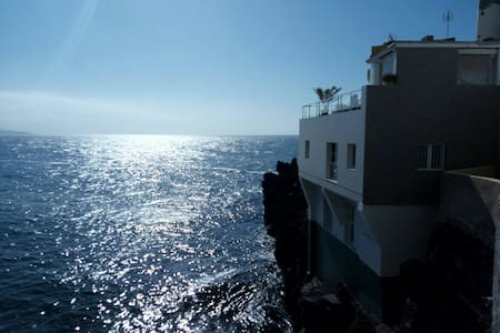 Estudio encima del océano Atlántico - Puerto de la Cruz