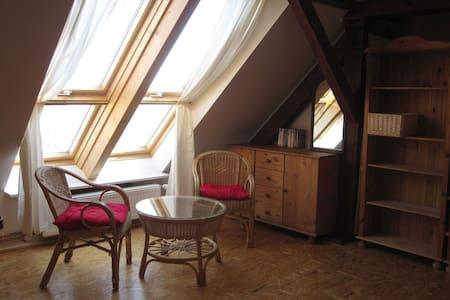 Schöne Dachgeschoss-Wohnung
