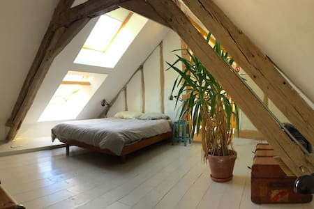 Belle ancienne fermette, au calme, au vert - La Ferté-Loupière - House