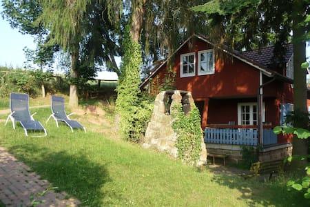 Schwedenhaus  Kinderbauernhof - Naumburg - Talo