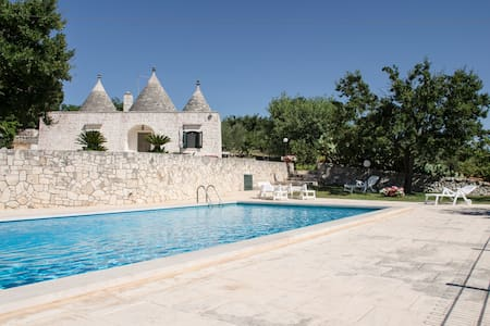 Gorgeous trulli with swimming pool - Maison
