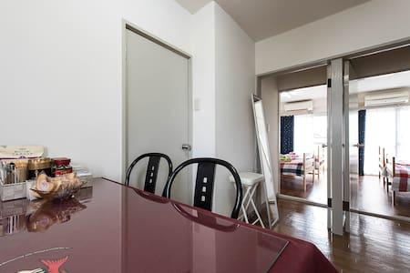SHINJUKU(4min)2bedrooms(max)6person - Wohnung