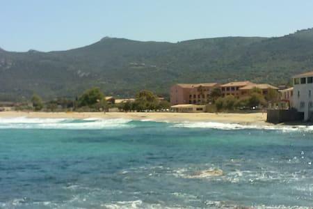 T3 à 30 mètres de la plage !!! - Algajola - Appartement