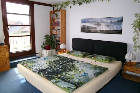 Roof terrace room with shower - Kirchheim bei München - Bed & Breakfast