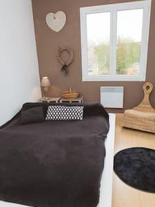 Chambre - maison proche lac/océan - Haus