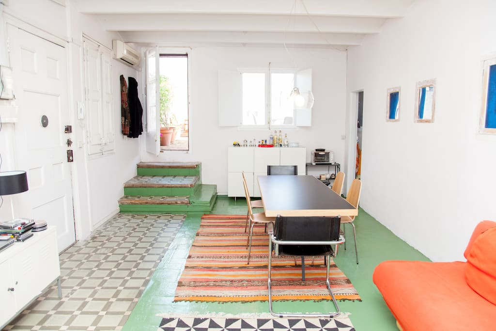 Borne:Attic with charming terrace