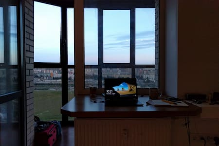 2 mins from metro & a great view - Apartment