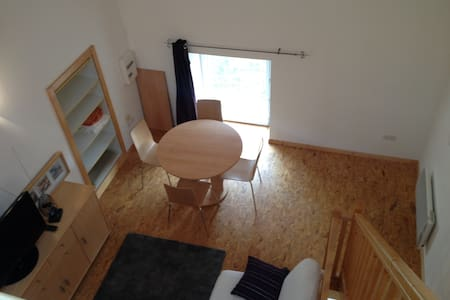 Grand studio mezzanine à 10km de Vienne - Leilighet