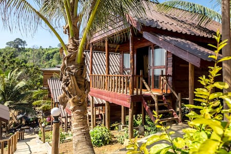 Happy Elephant Bungalows - Koh Rong - Bungalow