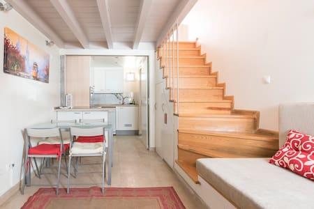 Central - Belem little house w/ wifi & aircon - Alpehytte
