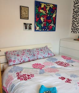 Bright airy double room - Rumah