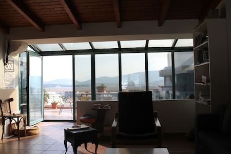 highest penthouse in Volos - Apartamento