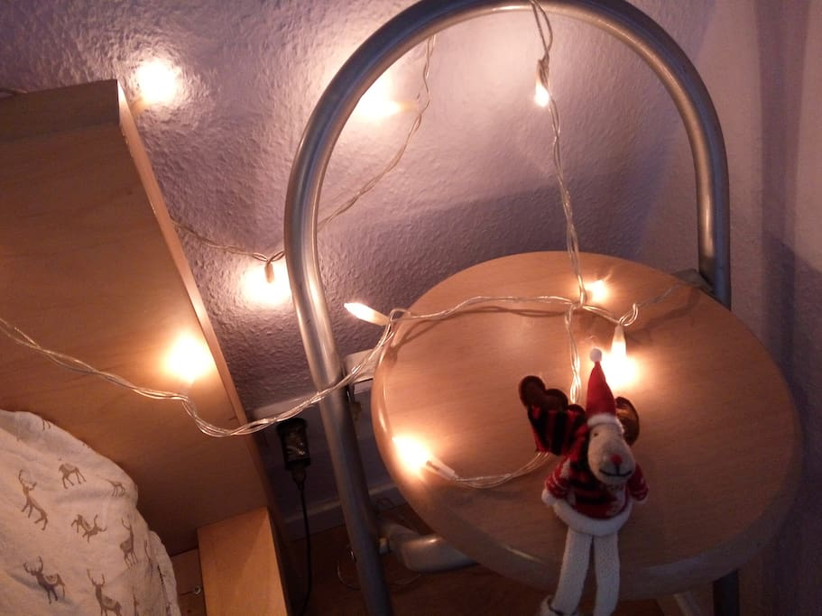 Lights for create your evening atmosphere)