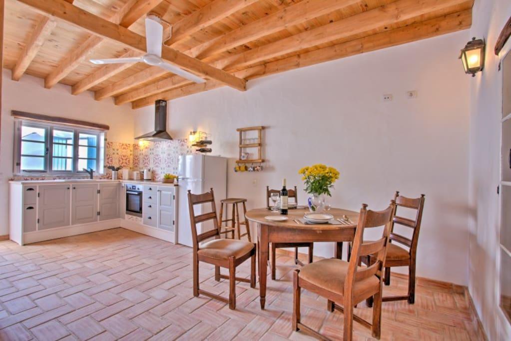 Ground floor kitchen/dining room