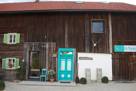 Loft am Land Design-Ferienwohnung - Dorfbeuern - Loft