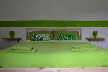 Peaceful Guesthouse - Green room - House