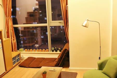近高崎机场枋湖汽车站brt复式双层Loft文艺小清新挑高公寓 - Xiamen - Apartamento