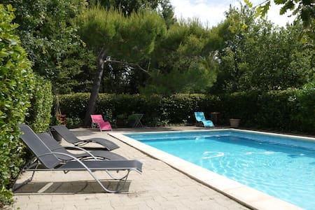 House +big pool+very big garden - Ev