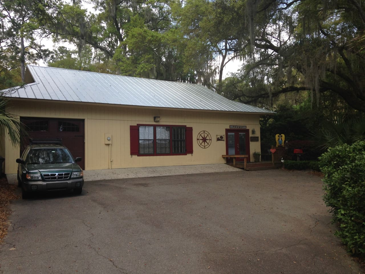 Guest House with new metal roof installed 3/31/15