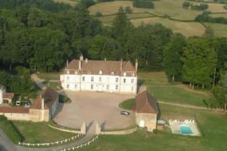 Castle wing in 11ha park - Slott