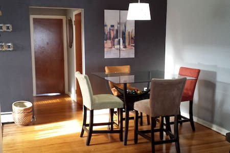 Spacious apartment for Papal Visit - Wyndmoor - Apartamento