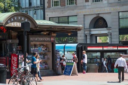 An Ideal Place Close to Harvard - Cambridge - Lakás