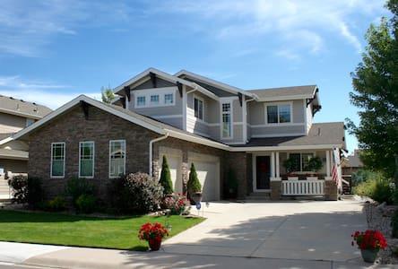 Lake Access!  Boyd Lake Single Family Home - ラブランド
