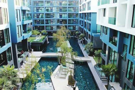 ACQUA CONDO JOMTIEN BEACH STUDIO - Muang Pattaya - Apartment
