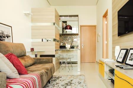 Flat de 42 m2 no Lake View Resort - Brasilia - Apartamento