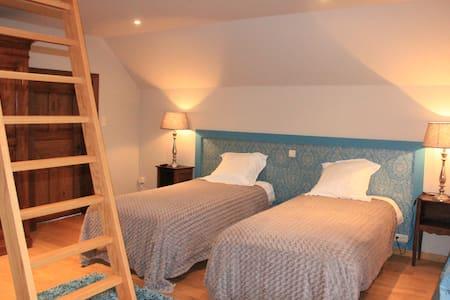 3 chambres de charme à la campagne - Mons