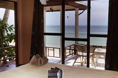 Romantic bungalow 2pers beachfront - Other