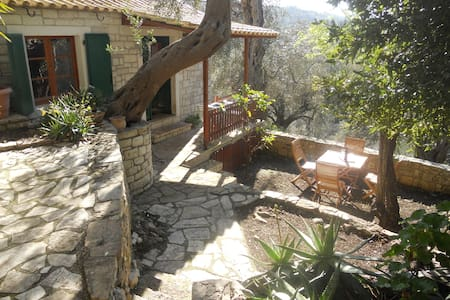 Nikolas Stone House , Loggos, Paxos - House
