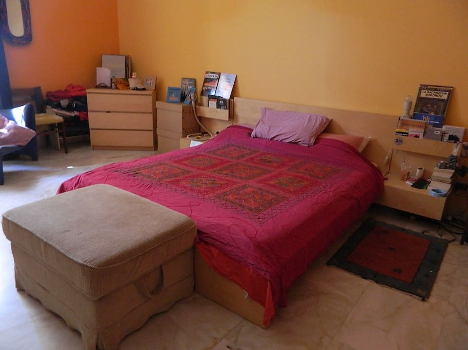 Bedroom, bedside.
