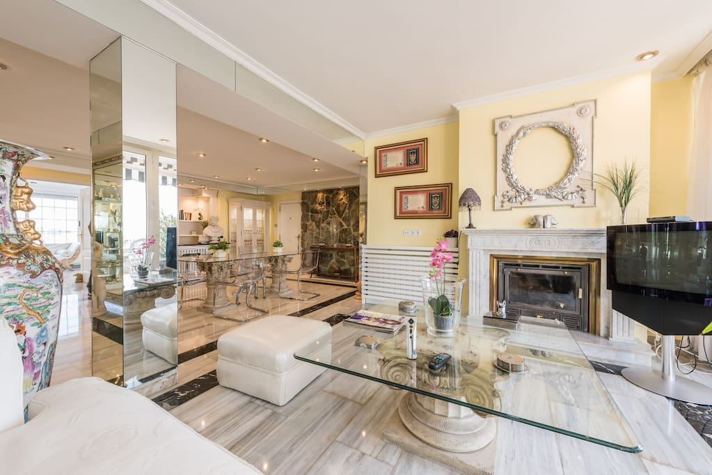 Luxury Penthouse In Madrid S Sky Houses For Rent In Madrid