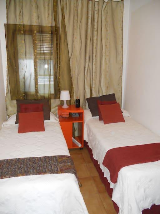 Beauitiful rooms in Barcelona enjoy