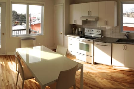 Sunny, modern & in a good location - Montréal - Appartamento