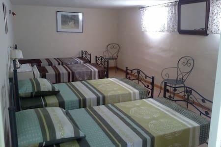 Chambre aux pieds du Mt Ventoux pour 4 personnes - Le Barroux - Villa