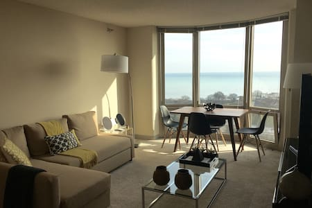 Great apartment, INCREDIBLE VIEW, great location - Evanston