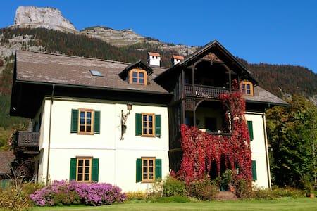 VILLAVEGH, direkt am Altausseer See - Villa