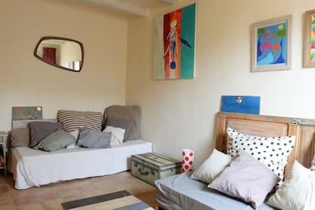 Double room at Artist's House - Camallera - House
