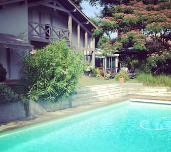Grande Maison Jardin et Piscine - Mont-de-Marsan