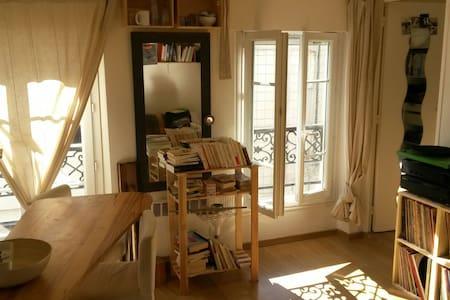 Sunny apartment near Montmartre