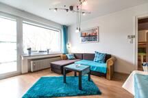 Helle 3-Zi-Wohnung mit Dachterrasse