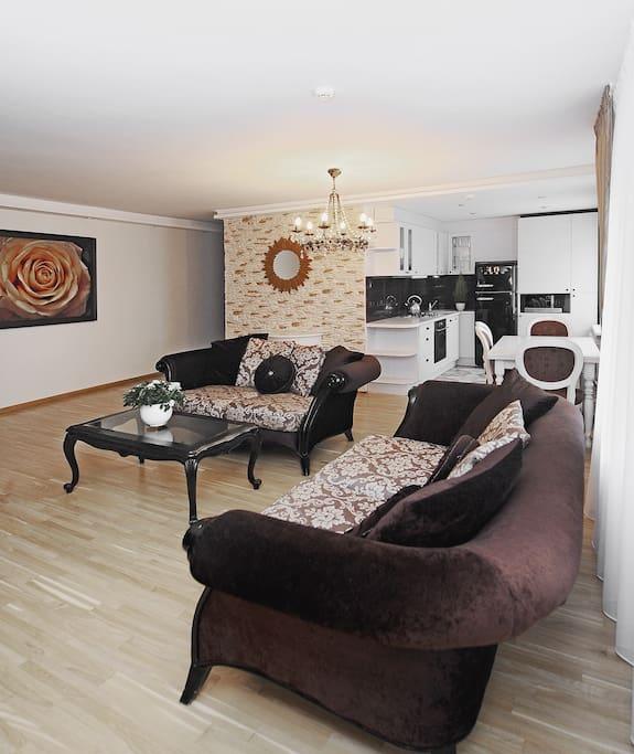 Elegant flat in Kaunas center