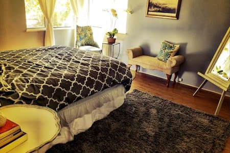 Shabby chic room in upscale area